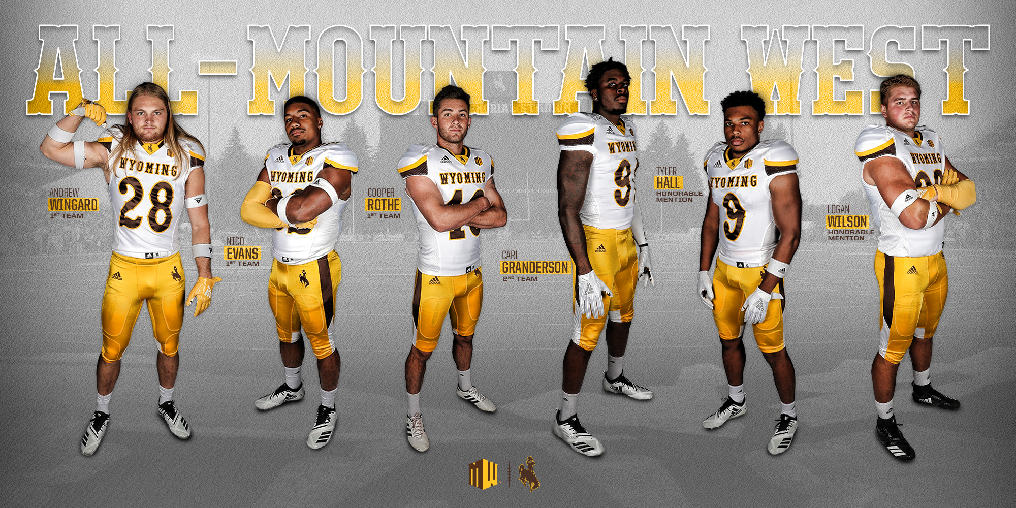 reputable site 4f3cc 1f5e2 Wyoming Cowboys kicker named Mountain West Player of the ...